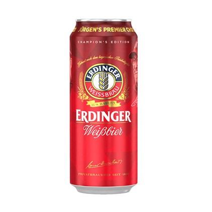 Cerveja Erdinger Weissbier Jurgen's Premier Choice 2020 Lata 500ml