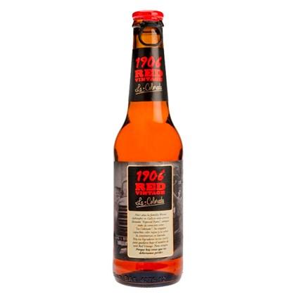 Cerveja Estrella Galicia 1906 Red Vintage Garrafa 330ml