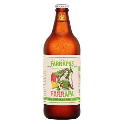 Cerveja Farrapos FarrAPA Garrafa 600ml