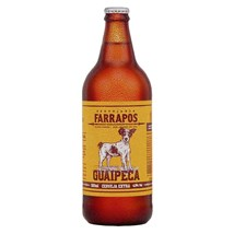 Cerveja Farrapos Guaipeca Pilsen 600ml