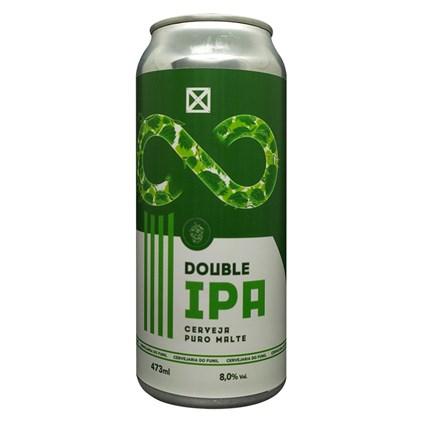Cerveja Funil Double IPA Lata 473ml