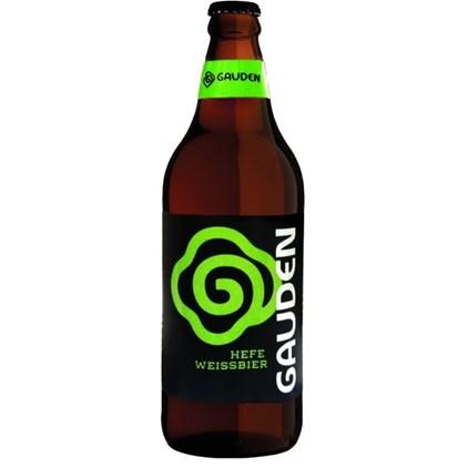 Cerveja Gauden Bier Hefe Weissbier Garrafa 600ml