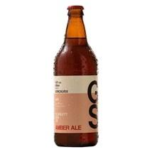 Cerveja Gonçalves Amber Ale Garrafa 600ml