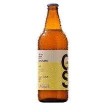 Cerveja Gonçalves Lager Garrafa 600ml