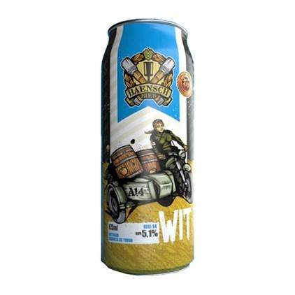 Cerveja Haensch Bier Wit Lata 473ml