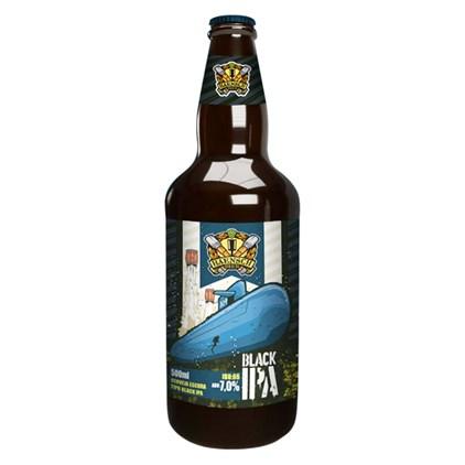 Cerveja Haensch Black IPA Garrafa 500ml