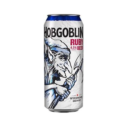 Cerveja Hobgoblin Legendary Ruby Beer Lata 500ml