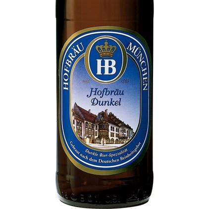 Cerveja Hofbrau Dunkel Garrafa 500ml
