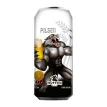 Cerveja Hoffen Bier Golden Eye Pilsen Lata 473ml