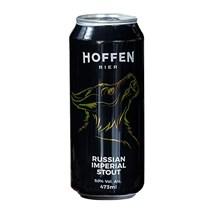 Cerveja Hoffen Bier Russian Imperial Stout Lata 473ml