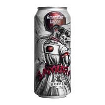 Cerveja Hoffen Bier Samurai American Lager Lata 473ml