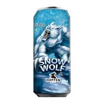 Cerveja Hoffen Bier Snow Wolf Weiss Lata 473ml