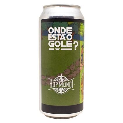 Cerveja Hop Mundi Onde Está O Gole? Mauí Terps NEIPA Lata 473ml