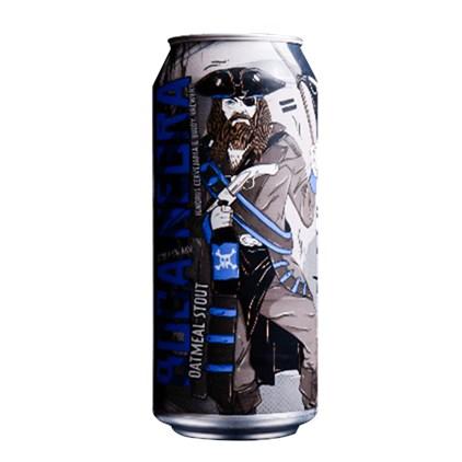 Cerveja Ignorus Boca Negra Oatmeal Stout Lata 473ml