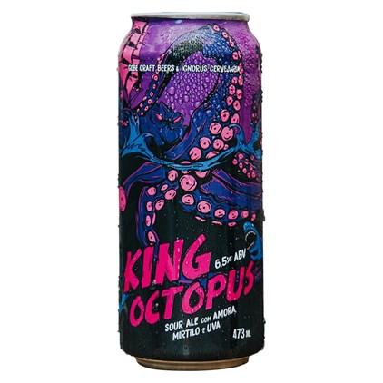 Cerveja Ignorus King Octopus Sour Ale Lata 473ml