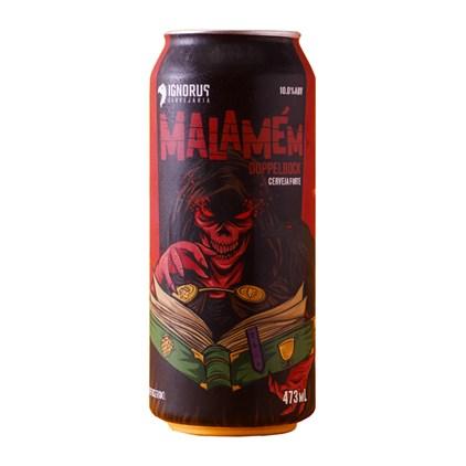 Cerveja Ignorus Malamén Doppelbock Lata 473ml