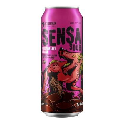 Cerveja Ignorus Sensa Sour Berliner Weisse Lata 473ml