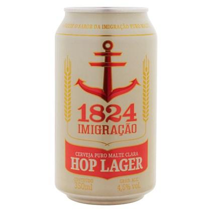 Cerveja Imigração Hop Lager Lata 350ml