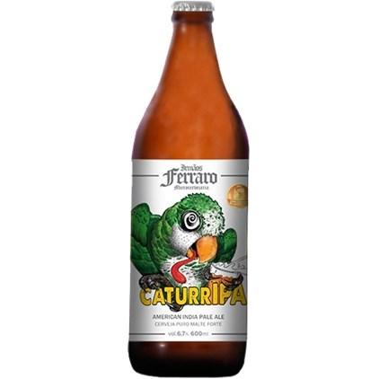 Cerveja Irmãos Ferraro CaturrIPA Garrafa 600ml