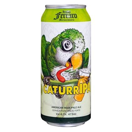 Cerveja Irmãos Ferraro CaturrIPA Lata 473ml