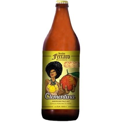 Cerveja Irmãos Ferraro Clementina Garrafa 600ml