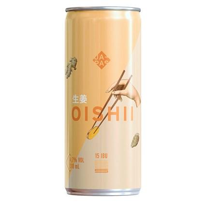 Cerveja Japas Oishii Witbier Lata 310ml