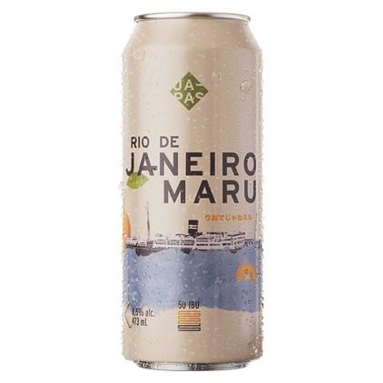 Cerveja Japas Rio de Janeiro Maru Lata 473ml