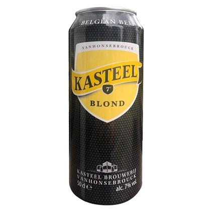 Cerveja Kasteel Blond Lata 500ml
