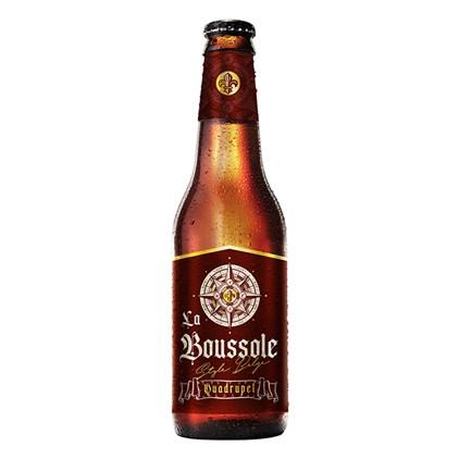 Cerveja La Boussole Quadrupel Garrafa 355ml