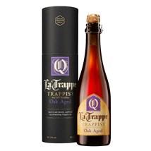 Cerveja La Trappe Quadrupel Oak Aged Garrafa 375ml