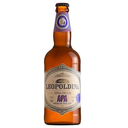 Cerveja Leopoldina APA Garrafa 500ml