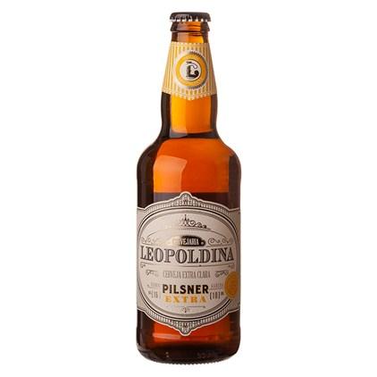 Cerveja Leopoldina Pilsner Extra Garrafa 500ml