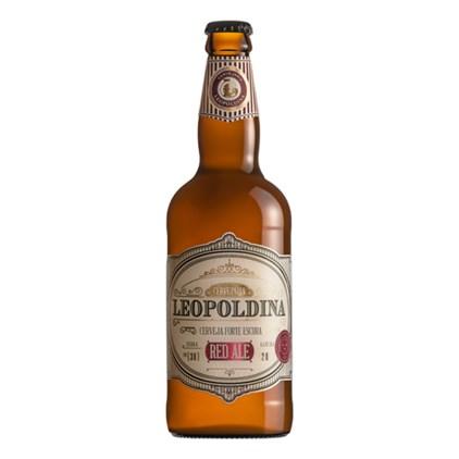 Cerveja Leopoldina Red Ale Garrafa 500ml