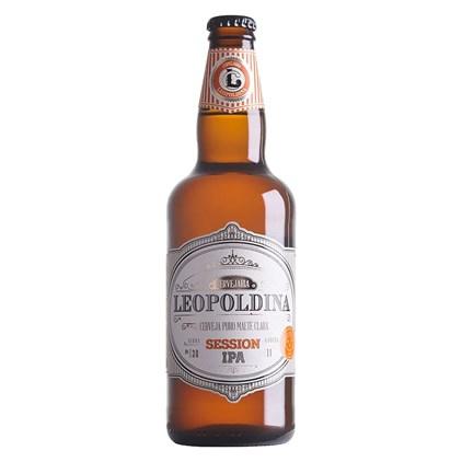 Cerveja Leopoldina Session IPA Garrafa 500ml