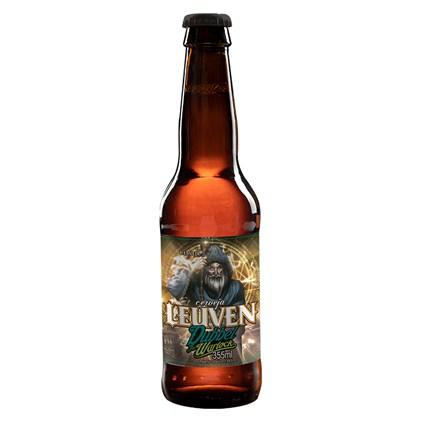 Cerveja Leuven Dubbel The Warlock Garrafa 355ml