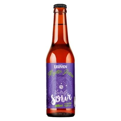 Cerveja Leuven Mystic Potion Sour Uva Garrafa 355ml