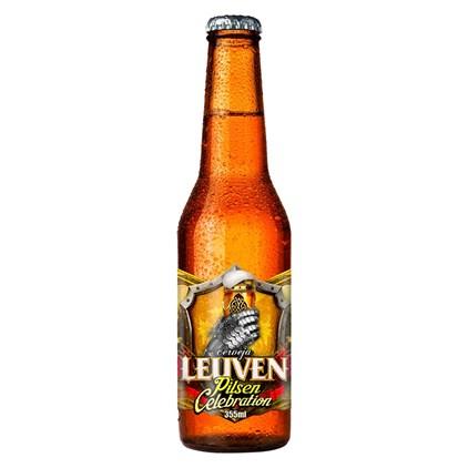 Cerveja Leuven Pilsen Celebration Garrafa 355ml
