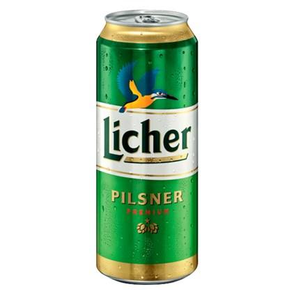 Cerveja Licher Pilsner Lata 500ml