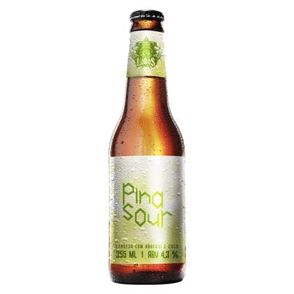 Cerveja Lobos Pina Sour Garrafa 355ml