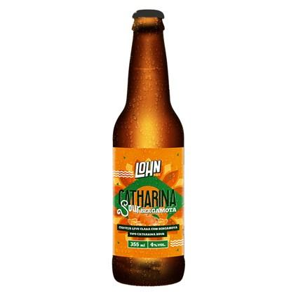 Cerveja Lohn Bier Catharina Sour com Bergamota Garrafa 355ml