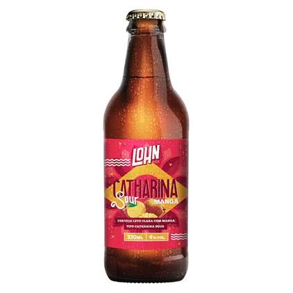 Cerveja Lohn Bier Catharina Sour com Manga Garrafa 330ml