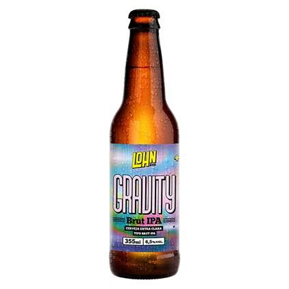 Cerveja Lohn Bier Gravity Brut IPA Garrafa 355ml