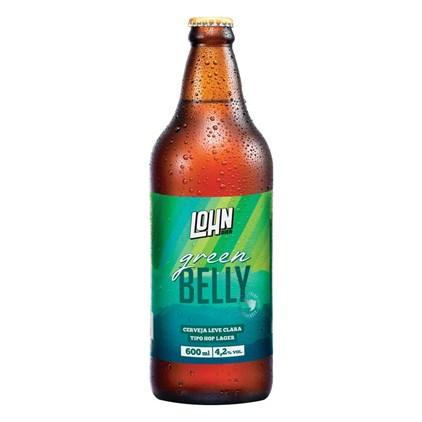 Cerveja Lohn Bier Green Belly Garrafa 600ml