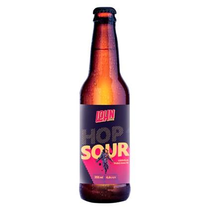 Cerveja Lohn Bier Hop Sour Garrafa 355ml