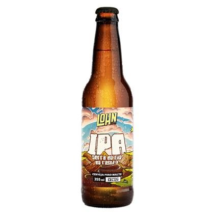 Cerveja Lohn Bier IPA Serra do Rio do Rastro Garrafa 355ml