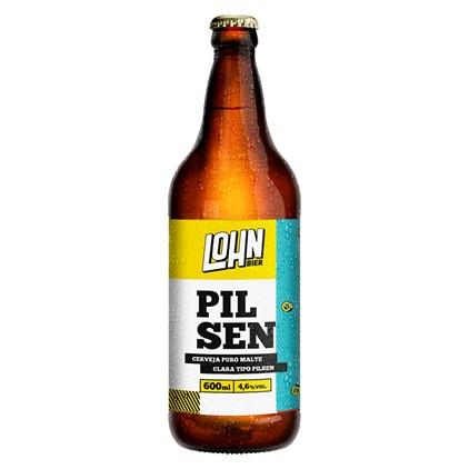 Cerveja Lohn Bier Pilsen Garrafa 600ml