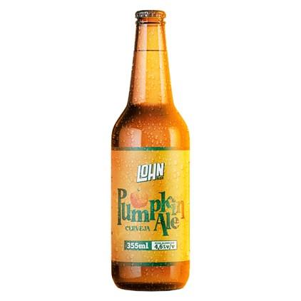Cerveja Lohn Bier Pumpkin Ale Garrafa 355ml
