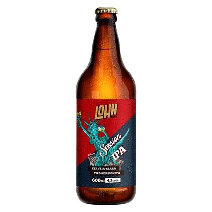 Cerveja Lohn Bier Session IPA Garrafa 600ml