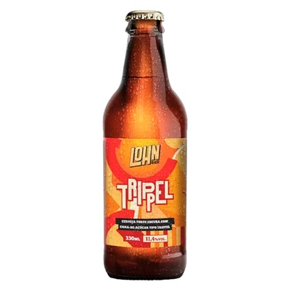 Cerveja Lohn Bier Trippel Garrafa 330ml