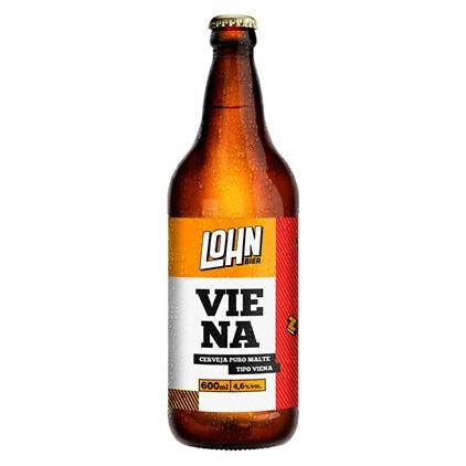 Cerveja Lohn Bier Viena Garrafa 600ml
